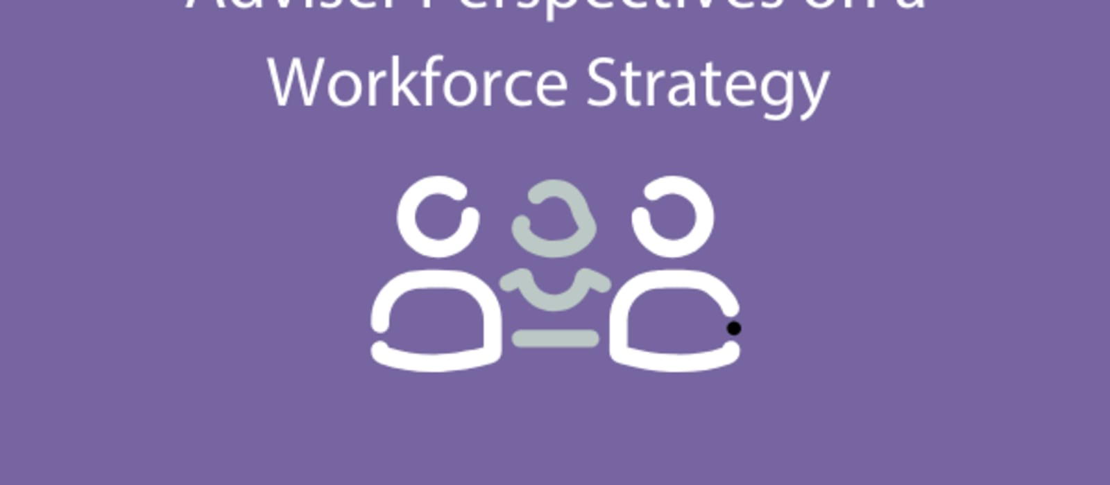 Adviser Perspectives on a Workforce Strategy